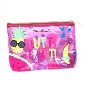 5 FOR $25 Too Faced Makeup Bag